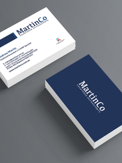 Business Cards Square Corners by COG Print line