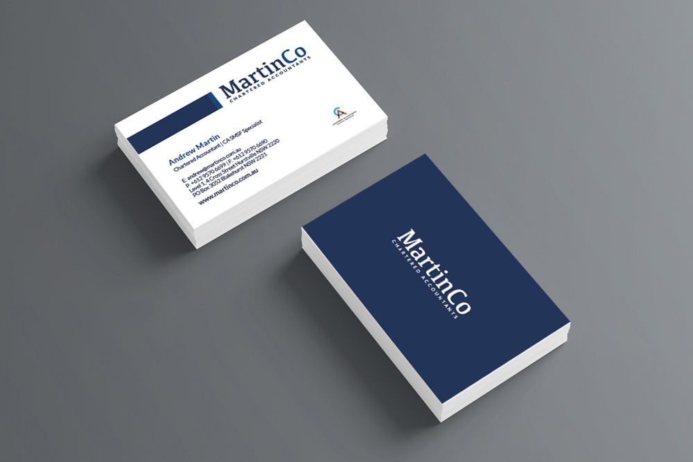 Online Business Card Printing | COG Print Shop Sydney