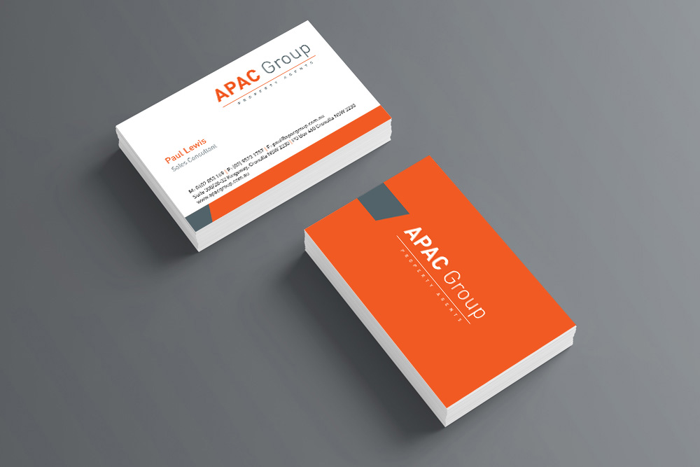 Online business card printing cog print shop sydney cog print online stationery business cards reheart Gallery