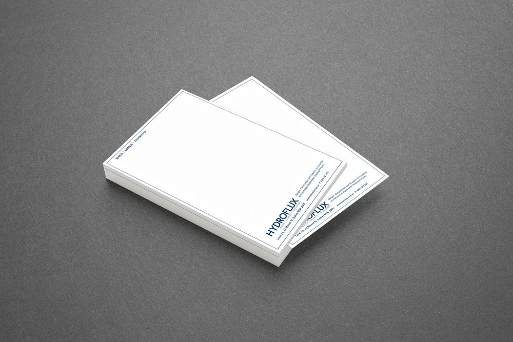 Deskpad and notepad printing by cog print online cog print online stationery notepads deskpads reheart Image collections